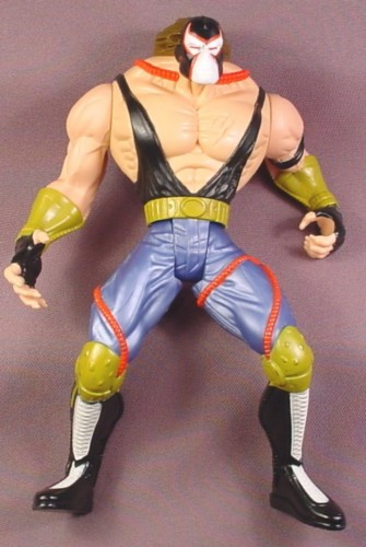 "Batman Impact Bane Action Figure, 7 1/4 "" , 1997 Kenner, Legends of The Dark Knight Series 1"