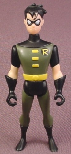 "Batman Garden of Evil Robin Action Figure, 4 "" , 1998 Kenner, From Kmart Exclusive 3 Figure"