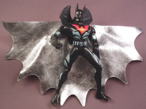 """Batman Capture Cape Action Figure, 5 """"  tall, 2000 Kenner, Mission Masters Series 3"""