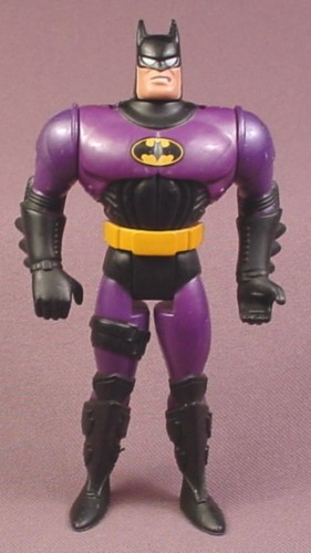 "Batman Hover Jet Action Figure, 4 3/4 "" , 1995 Kenner, Adventures of Batman & Robin Series"
