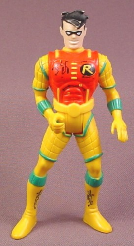 "Batman Hydro Storm Robin Action Figure, 4 1/2 "" , 1997 Kenner, Adventures of Batman & Robin"