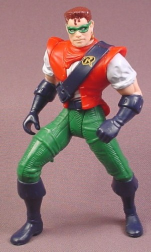 "Batman First Mate Robin Action Figure, 4 3/4 ""  tall, 1996 Kenner, Legends of Batman Series 3"