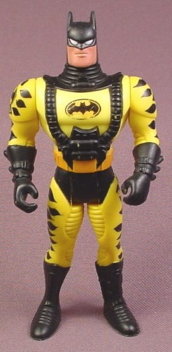 "Batman Sea Claw Action Figure, 4 3/4 "" tall, 1995 Kenner, Crime Squad Series 1"