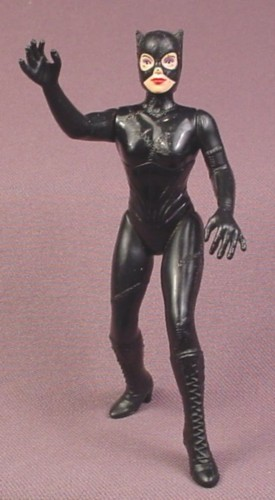 "Batman Catwoman Action Figure, 4 1/4 "" tall, 1992 Kenner, Batman Returns Series 1"