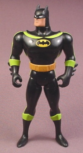 "Batman High Wire Action Figure, 4 3/4"" tall, 1993 Kenner, The Animated Series 2, HighWire"