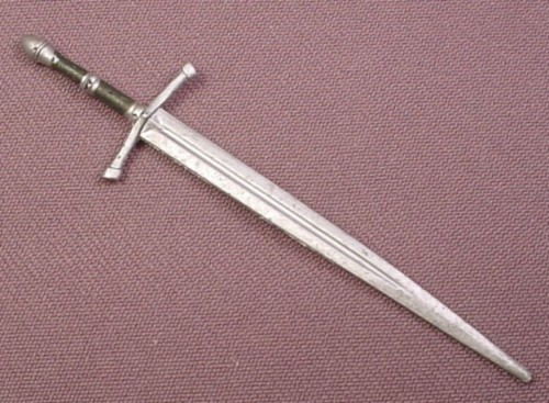 Lord of the Rings Sword Weapon Accessory for Sword Slashing Strider Action Figure, 2003