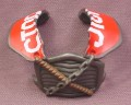 TMNT Stop Sign Shoulder & Chest Armor Accessory for Fightin Gear Mike Action Figure, 2003
