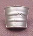 TMNT Silver Pail Arm Armor Accessory for Fightin Gear Don Action Figure, 2003 Playmates