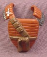 TMNT Baseball Backcatcher Chest Armor Accessory for Fightin Gear Don Action Figure, 2003