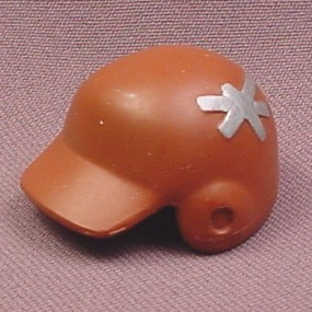 TMNT Baseball Helmet Accessory for Fightin Gear Don Action Figure, 2003 Playmates