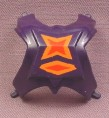 He-Man MOTU Front Half Of Chest Armor Accessory for Webstor Action Figure, 1984 Mattel