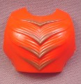 He-Man MOTU Front Half Of Armor Accessory for Clawful Action Figure, 1984 Mattel