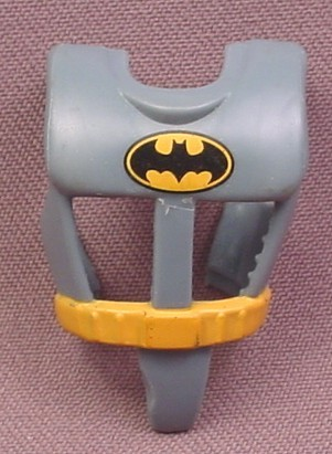 Batman Snap On Chest Armor Accessory for Bruce Wayne Action Figure, 1992 Kenner