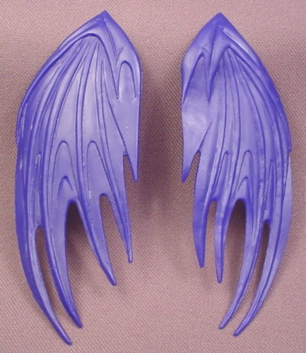 Batman Pair of Wings Accessory for Batman Action Figure, 1996 Kenner, Total Justice Series