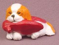 Puppy In My Pocket King Charles Spaniel Dog PVC Figure, Jemima #110, 1995 M.E.G.