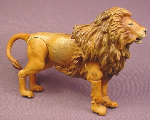 "Disney Chronicles of Narnia Aslan Lion Action Figure, 3 3/4"" tall, 5"" long, 2008 Jakks Pacific"