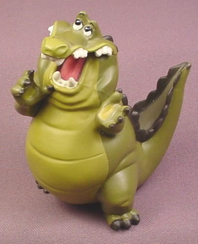 """Disney The Princess and The Frog Louis Alligator PVC Figure, 4"""" tall"""