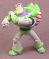 Disney Toy Story Buzz Lightyear Shooting His Arm Laser Pose PVC Figure, 3 1/8 Inches Tall