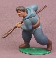 "Disney Brother Bear Human Denahi With Spear PVC Figure on Base, 2 3/4"" tall"