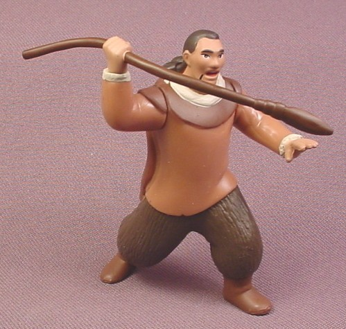"""Disney Brother Bear Human Sitka With Spear PVC Figure, 3 1/4"""" tall"""