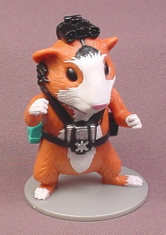 Disney G Force Darwin Guinea Pig Pvc Figure On Base 3 1 4 Tall Decopac Rons Rescued Treasures