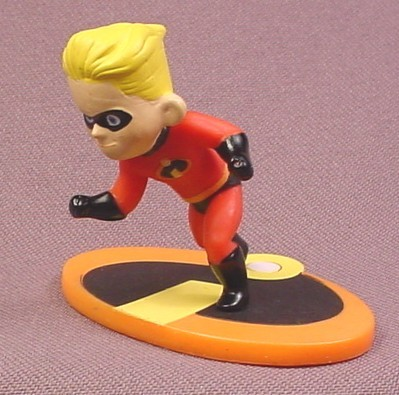 Disney The Incredibles Dash PVC Figure On A Base, 2 Inches Tall, Disney Figurine