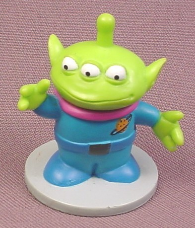 Lot of 2 Disney Toy Story Alien Figure 2 Inches