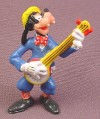 Disney Goofy Playing a Banjo PVC Figure, 2 1/2