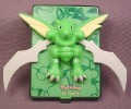 Burger King Pokemon 2000 The Movie Scyther Power Card Toy, 3 3/4