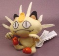 Burger King Pokemon Plush Meowth Toy Figure, 3 1/4