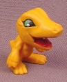Digimon Agumon PVC Figure, 1 1/4 Inches Tall, 1997 Bandai