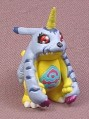 Digimon Gabumon PVC Figure, 1 5/8