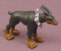 Digimon Dobermon PVC Figure, 1 1/8 Inches Tall, 2002 Bandai