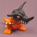 Digimon Greymon PVC Figure, 2 Inches Tall, 1997 Bandai