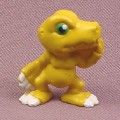 Digimon Agumon PVC Figure, 1 1/8 Inches Tall, 2001 Bandai
