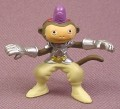 Digimon Makuramon Monkey Deva PVC Figure, 1 3/8 Inches Tall, 2001 Bandai