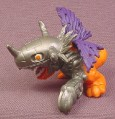 Digimon Metagreymon PVC Figure, 2 Inches Tall, 1997 Bandai, Metal Greymon