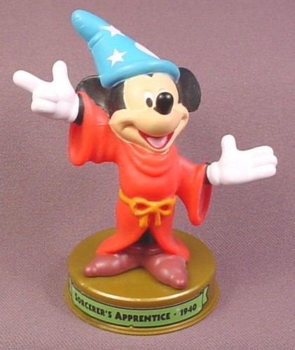 McDonalds 100 Years of Magic Mickey Mouse Sorcerer's Apprentice PVC Figure on Base