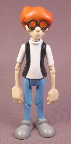 "Adventures in Odyssey Eugene Action Figure, 5"" tall, Focus On The Family, Multiple joints"