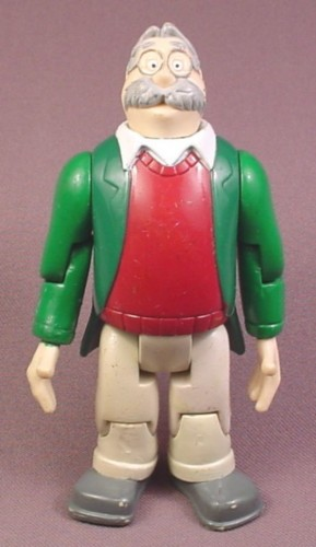 """Adventures in Odyssey Whit Action Figure, 5"""" tall, Focus On The Family, Multiple joints"""