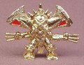 Fistful Of Power Xar The Ultimate Gold Fighter Figure, Red Color For Canada, Series 1