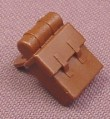 Lego 2524, Brown Non-Opening Backpack, Minfig Accessory, Western Pirates Adventurers