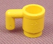 12x Lego ® Cup 3899 New Yellow