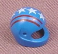 Lego 2446px6, Blue Modern Helmet with Red Lines & White Stars Pattern, 2147 6539 6327 9293