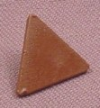 Lego 892, Brown Clip on Triangular Sign, 7128 7139 7121, Parts, Star Wars