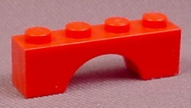 Lego 3659, Red 1x4 Arch, Parts