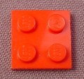Lego 3022 Red 2x2 Plate