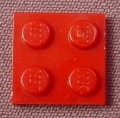 Lego 3022 Dark Red 2x2 Plate