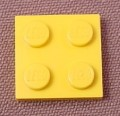 Lego 3022 Yellow 2x2 Plate
