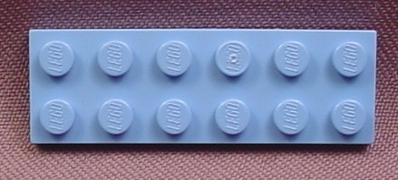 Lego 3795 Medium Blue 2x6 Plate